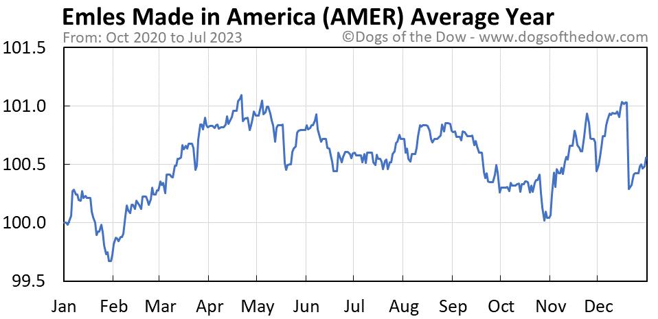 AMER average year chart
