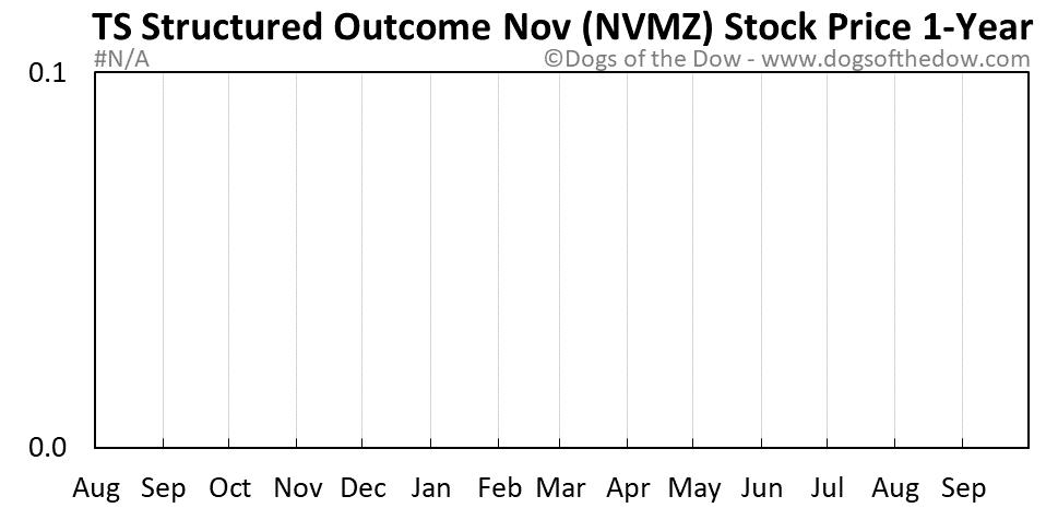 NVMZ 1-year stock price chart