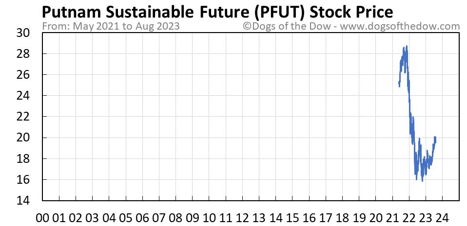 PFUT stock price chart