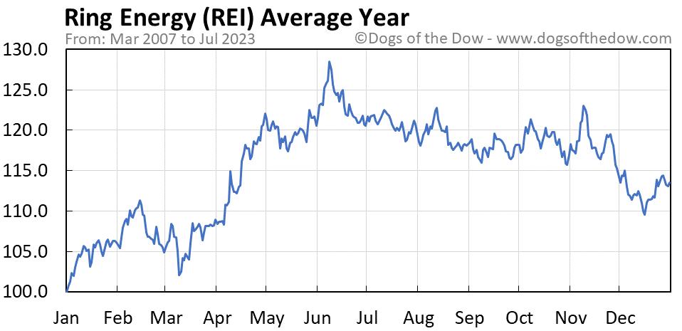 REI average year chart