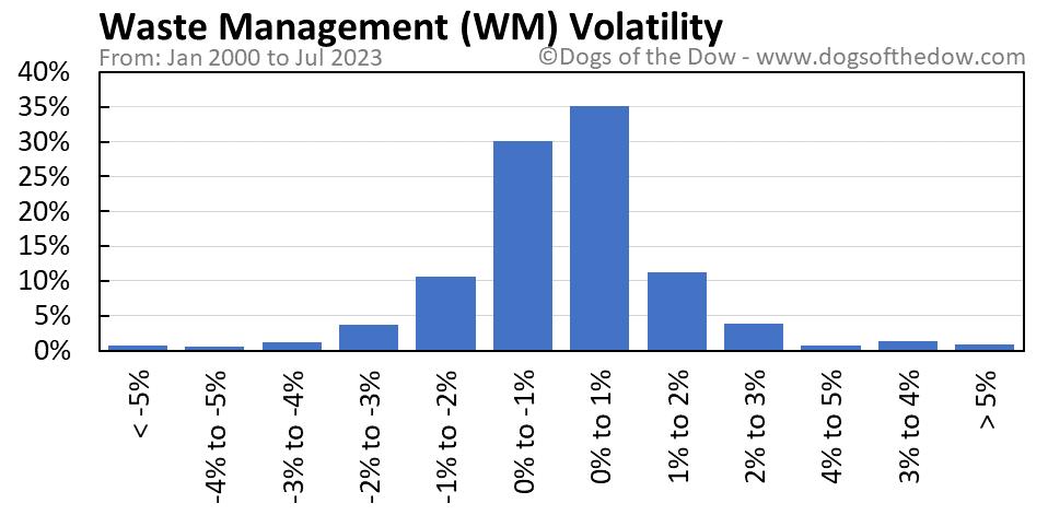 WM volatility chart